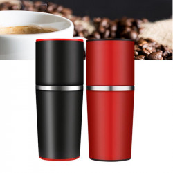 Coffee Maker Hand Pressure Portable Espresso Coffee Machine Pressing Bottle Pot Coffee Tool for Outdoor Travel Use