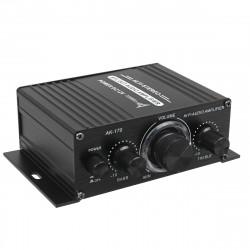AK170 Hifi 12V Car Amplifier Home Stereo Subwoofer Amplifier Sound Speaker LED Display