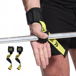 AOLIKES Non-slip Pulling Band Strap Sports Weight Lifting Wrist Guard Support Fitenss Protection Gear