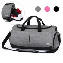 Oxford Wet Dry Separation Shoes Bag Sports Gym Fitness Handbag Yoga Bag Travel Shoulder Bag