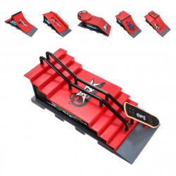 Mini Finger Skateboard Kid Fingerboard Toy Park Ramp Finger Board Recreation