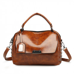Men Large Capacity Multi-Pocket Handbag Shoudler Bag Leisure Female Bag