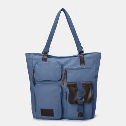 Women Multifunctional Large Capacity Shoulder Bag Backpack Handbag