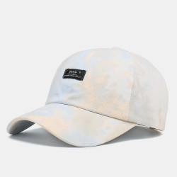 Unisex Tie Dye Fashion Baseball Cap Multicolor Hat