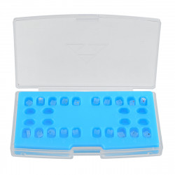 20 packs Ceramic Orthodontic Brackets Dental Tools