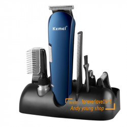 Hair Trimmer Titanium Hair Clipper Electric  Shaver Beard