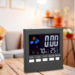 Weather  Station Humidity Calendar Clock Alarm L22