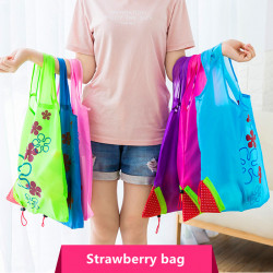 Shopping  Bag S Reusable Folding Grocery Nylon Eco Tote Bag