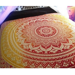Mandala Boho Tapestry Beach Blanket Yogamat Women Summer Shawl