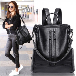 Female Pu Leather Women'S Backpack Bag S Travel Bag Back Pack