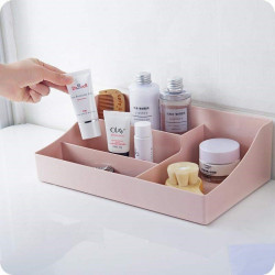 Dressing Case  Cosmetic Container Make-Up Box Bathroom Table