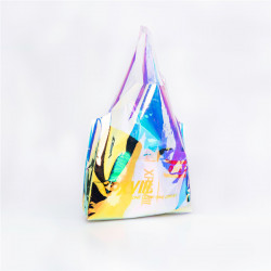 Xpx Xpxviii. Pvc High Shine Shopping  Bag