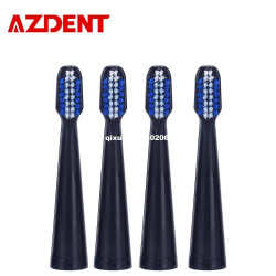 Azdent New 4Pcs / Set Toothbrush Heads Replacement Heads Fit F