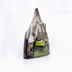 Xpx Zhou Baihao Xpxviii. Pvc Shopping  Bag Tricolor Shopping Bag