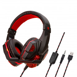 Gaming Headset Mic Headphones Laptop Earphone