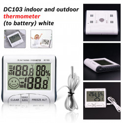 Weather  Station Household Indoor And Outdoor Lcd Electronic