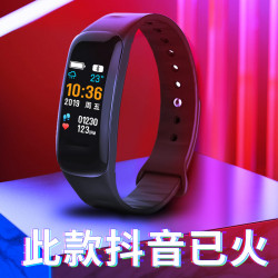 Smart Watch Male Student Waterproof Touch Screen Sports Bracelet Female Trend Multifunctional Heart Rate Blood Pressure Led Electronic Watch