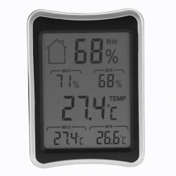 2019 Lcd Thermometer Indoor Hygrometer Weather  Station