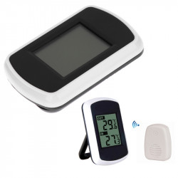 Ambient Wireless Weather  Station Lcd Digital Thermometer Ind