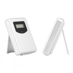 433Mhz Thermometer Humidity Sensor Weather  Station With Fore