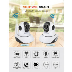 1080P Wifi Audio Wireless Sd Card Onvif Night Baby Monitor