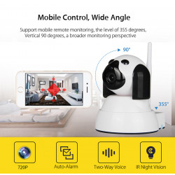Home Baby Monitor Wi-Fi Ip Camera Wireless Smart Dog Camera