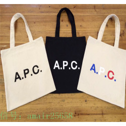 Apc Shopping  Bag Simple Fashion Canvas Bag Apc Printed Tote Student Bag
